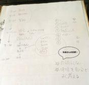 生徒さんのスケジュール
