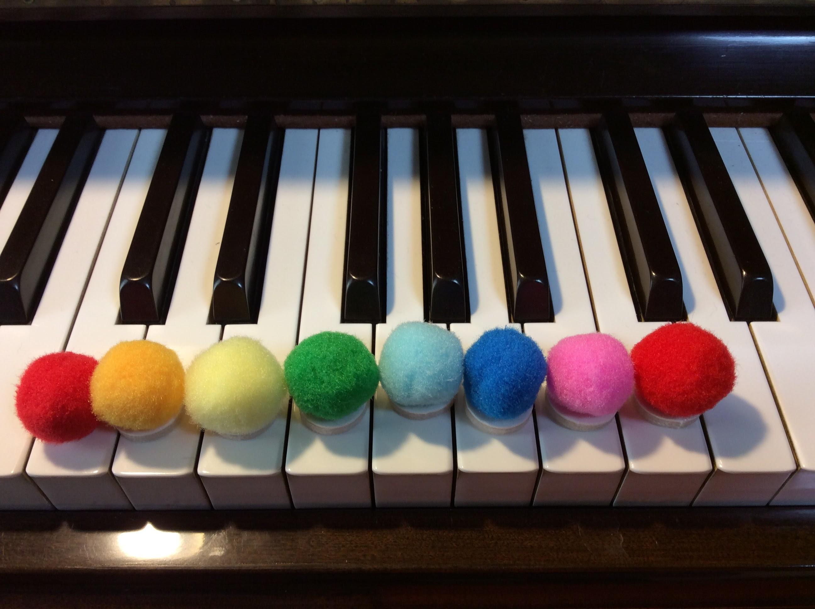 色音符のボール