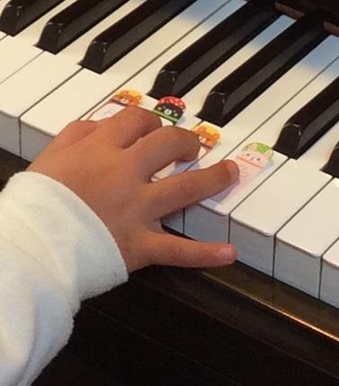 鍵盤の位置 ぴぴピアノ教室