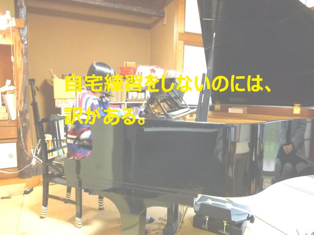 自宅練習をしないのには、訳がある。ぴぴピアノ教室