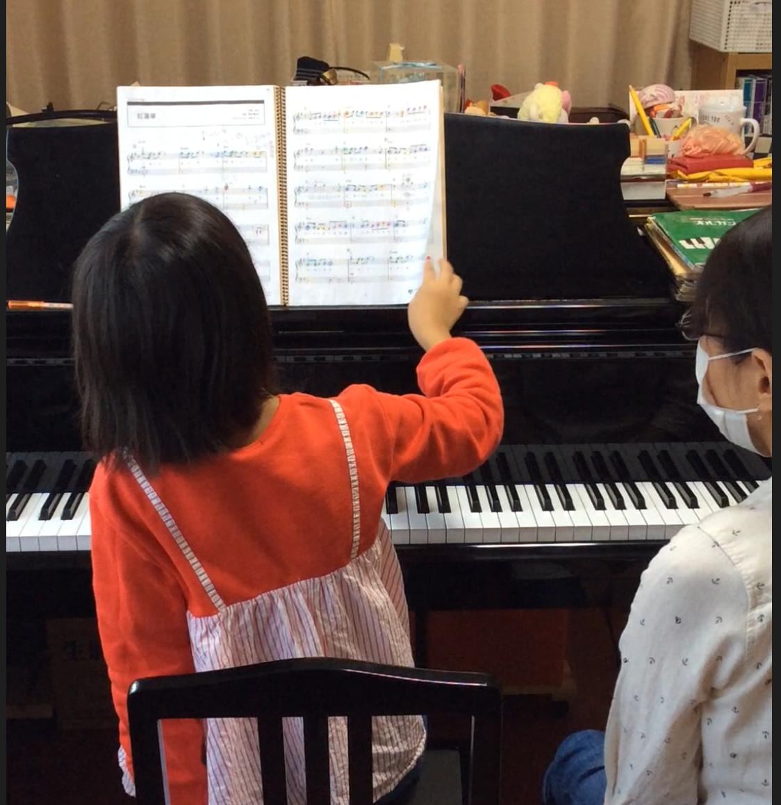 ぴぴピアノ教室の子どもの生徒さん画像