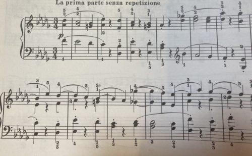 Beethovenの楽譜