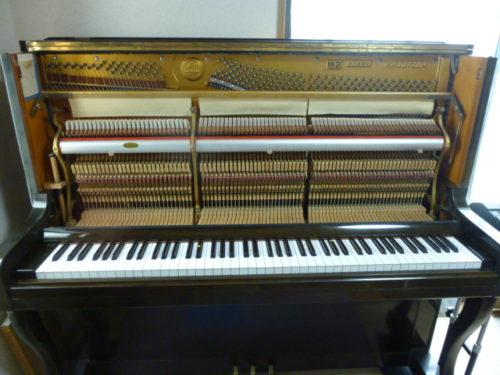アップライトピアノ中身 ぴぴピアノ教室