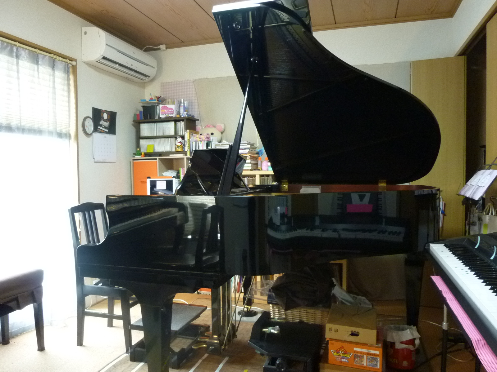 ぴぴピアノ教室グランドピアノ