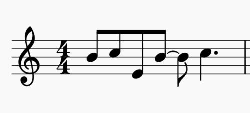 Let it go の楽譜の部分