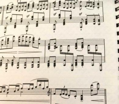 難しい楽譜 2019.10.10