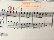 モーツァルトの楽譜 抜粋