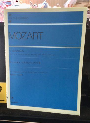 モーツァルト楽譜