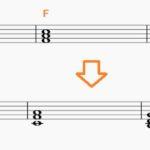 コードでアレンジ。まずはこの基本三和音と言われる、3つのコードだけ覚えよう。