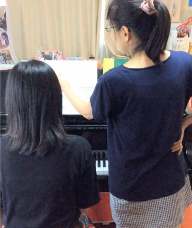 大人の生徒さん-ぴぴピアノ教室
