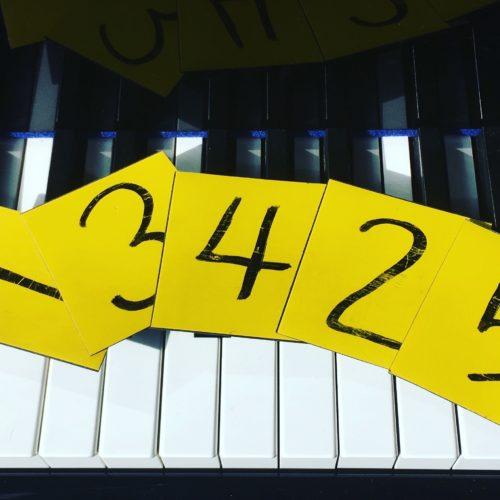 指番号カード ぴぴピアノ教室