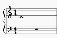 根音の全音符