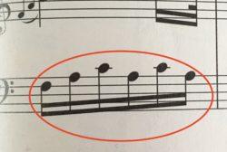 エリーゼのためにから 分散和音