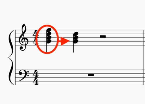 和音の代用