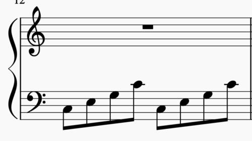 アルペジオの弾き方